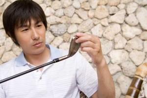 ゴルフの準備