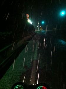 トンネルを抜けると雪国だった