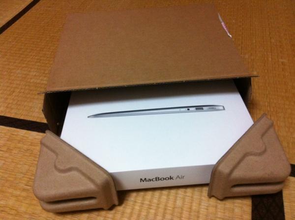 Mac Air 到着!