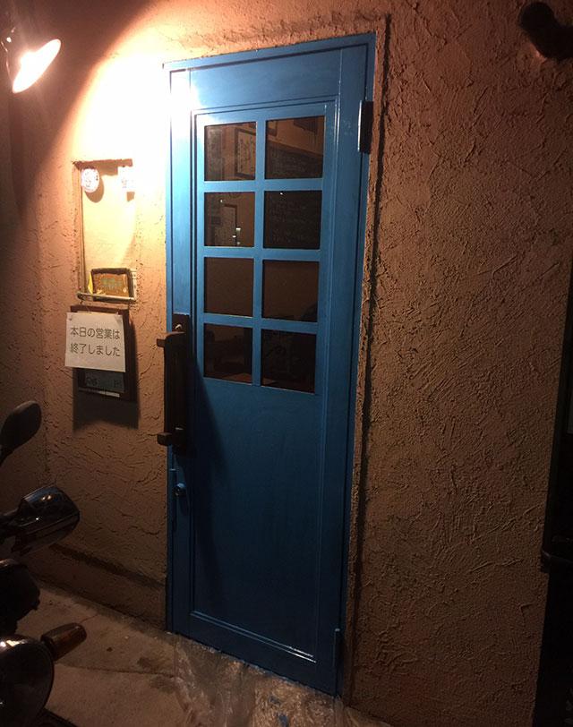 サンタフェ風グラスのドア-大