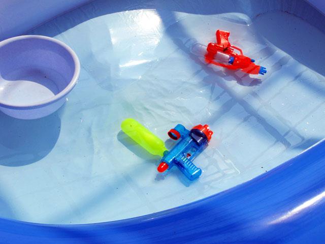 子供用ビニールプール