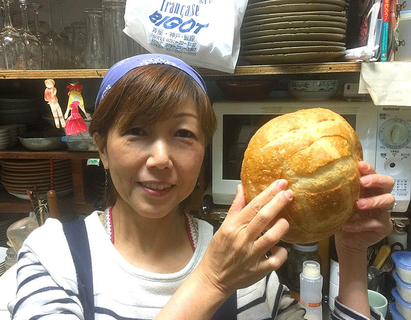 ビゴのパンと小顔